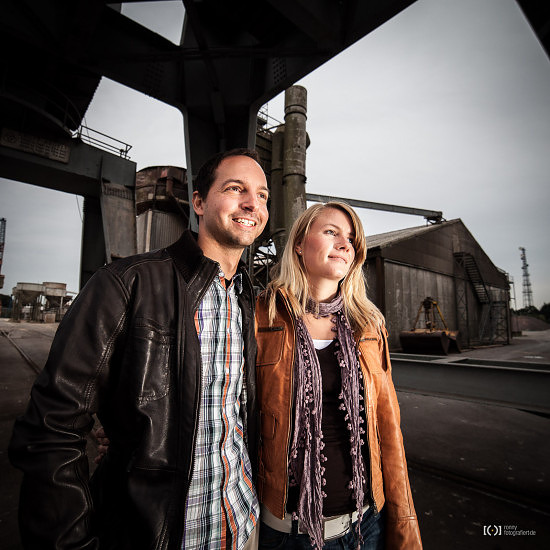 Foto Engagementshooting am Oldenburger Hafen von Ronny Walter