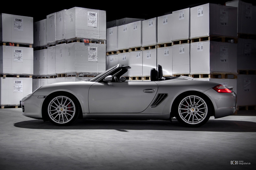 Foto Porsche Boxster Aufnahmen für Zeintop von Ronny Walter