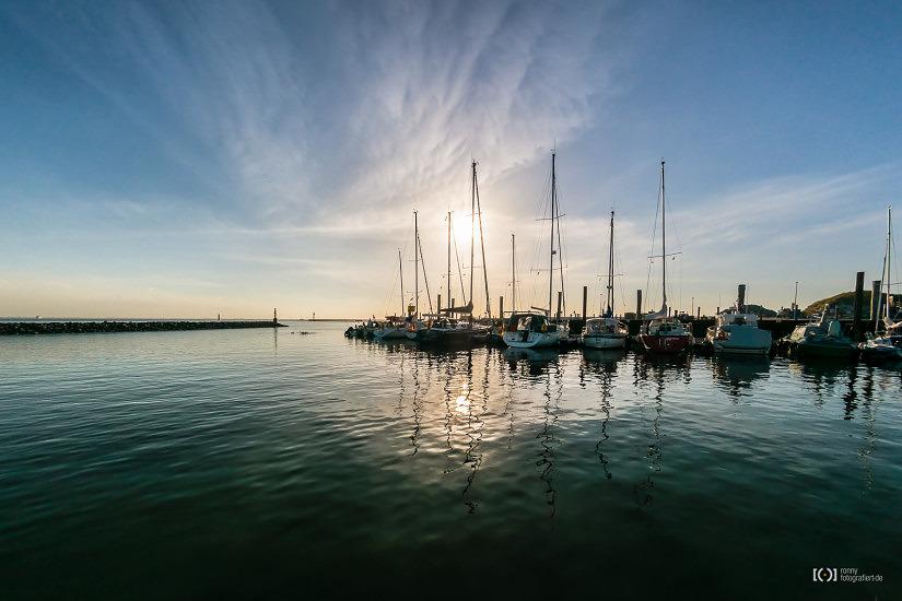 Foto Hafen Wangerooge von Ronny Walter