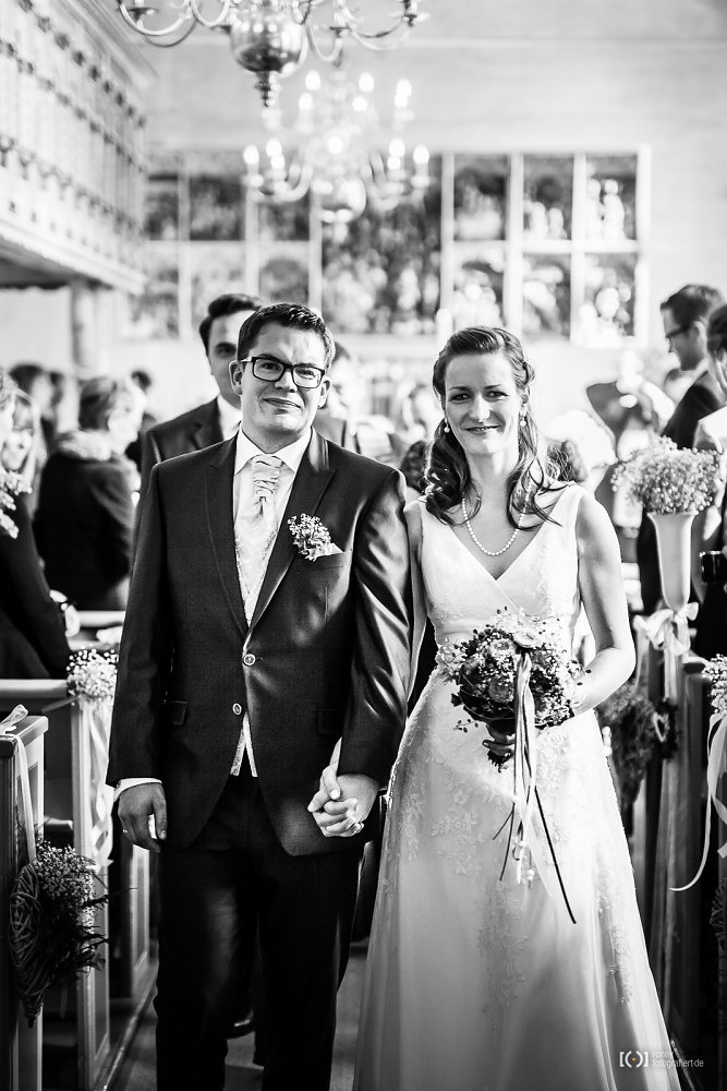 Foto Hochzeitsfotos bei der kirchlichen Trauung in Bad Zwischenahn von Ronny Walter