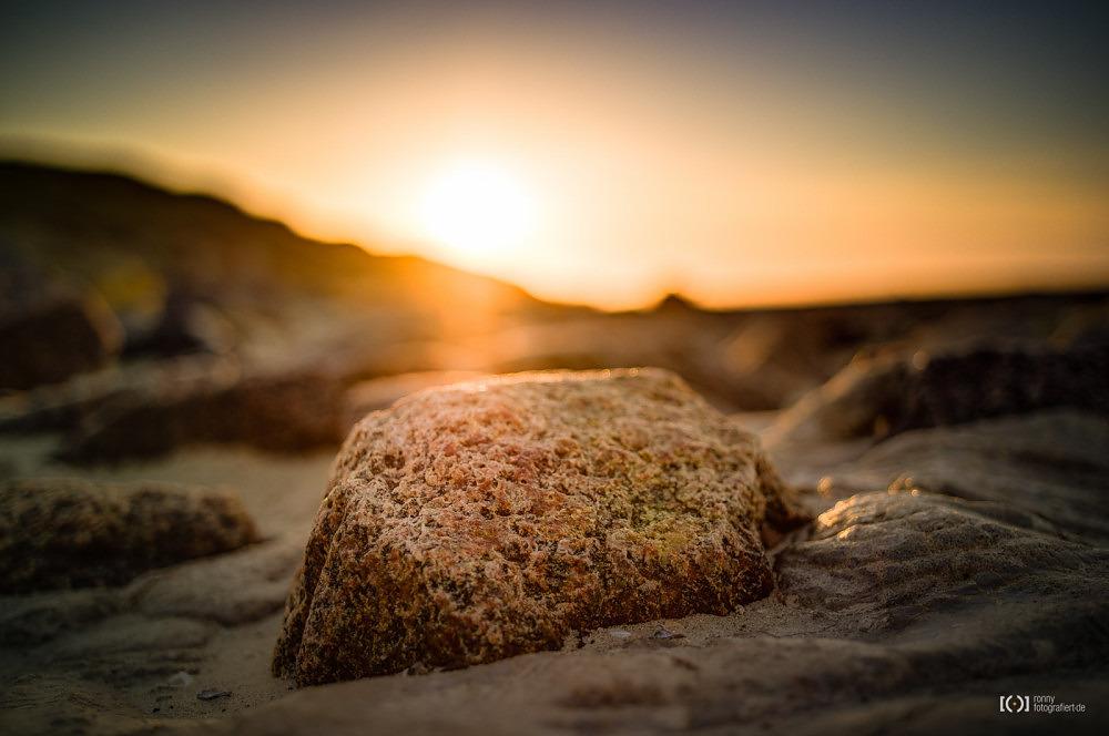 Foto Sonnenuntergang auf Wangerooge von Ronny Walter