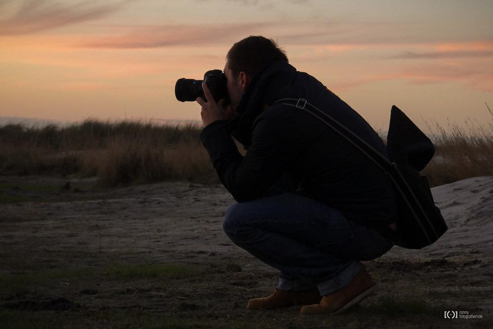Foto Beim Fotografieren von Bärbel Stork