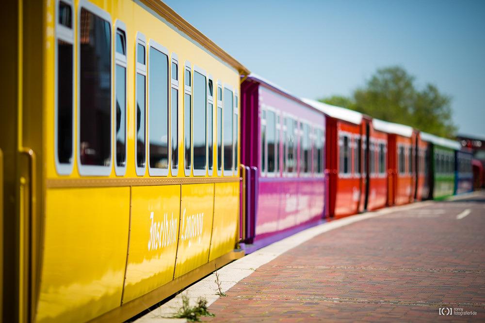 Foto Inselbahn Langeoog von Ronny Walter