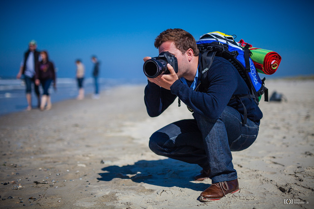 Foto Fototourist auf Langeoog von Bärbel Stork