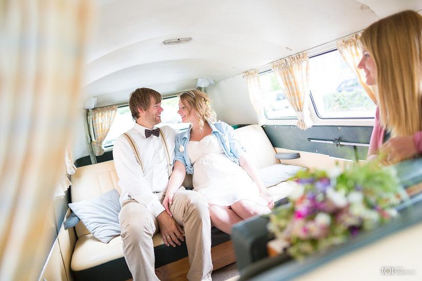 Foto Hochzeitsfotos mit VW T1 Bus von Ronny Walter