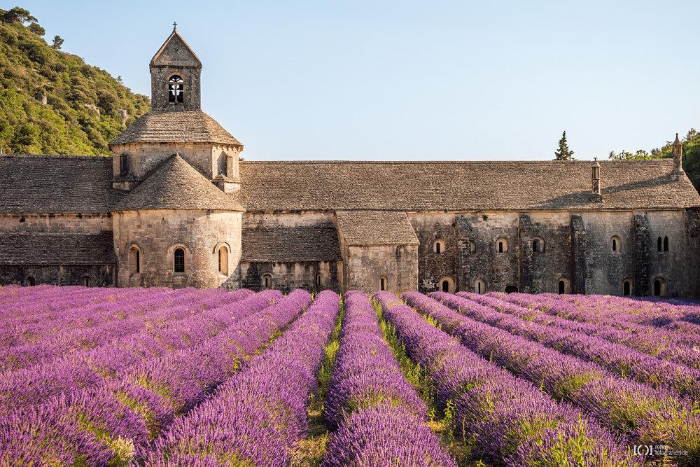 Foto Abtei von Sénanque - das Postkartenmotiv von Ronny Walter