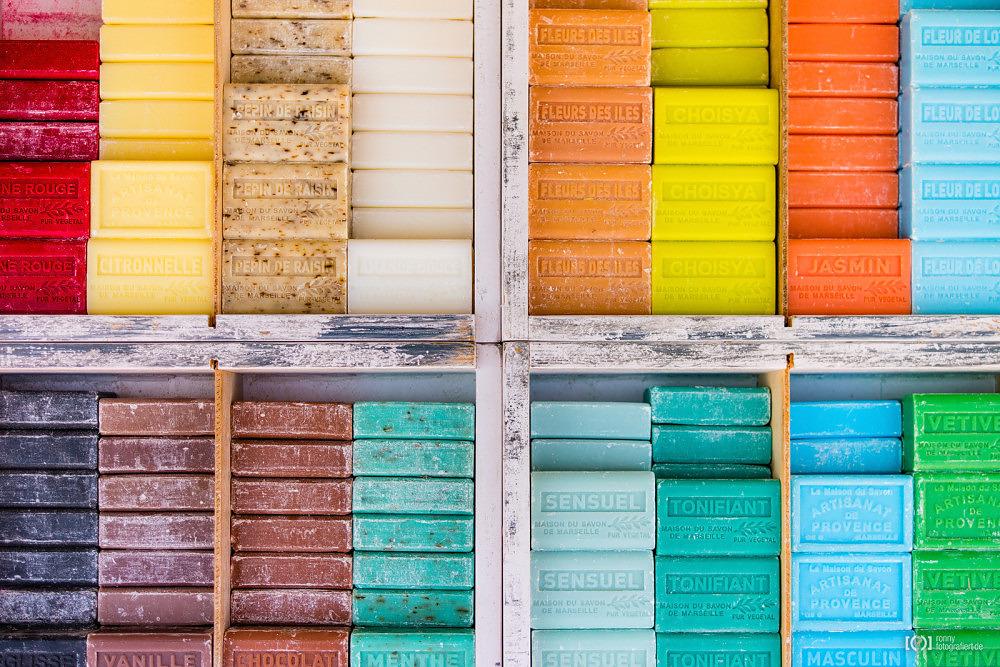 Foto Seife auf einem Markt in Apt von Ronny Walter