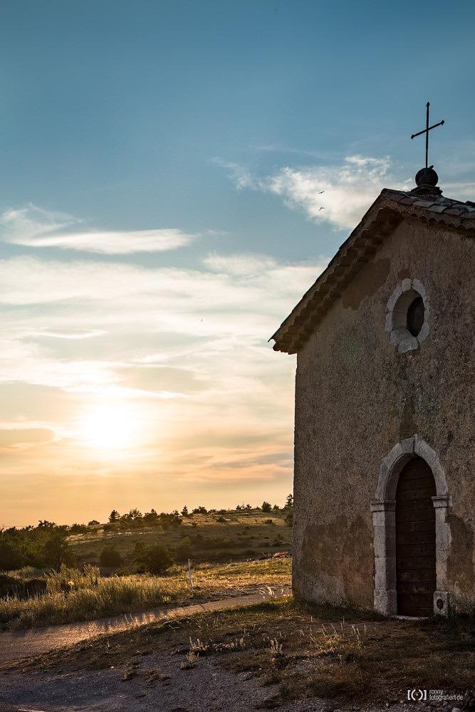 Foto Kapelle bei Sault von Ronny Walter