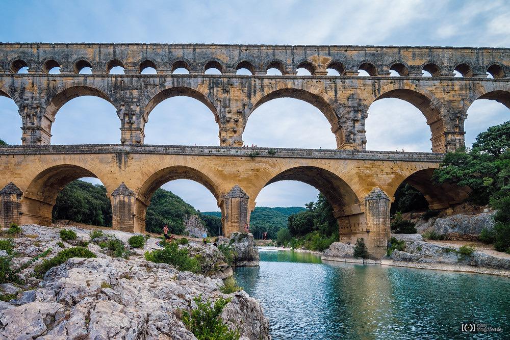 Foto Pont du Gard von Ronny Walter