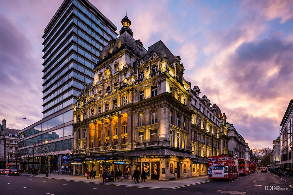 Foto Her Majesty's Theatre von Ronny Walter