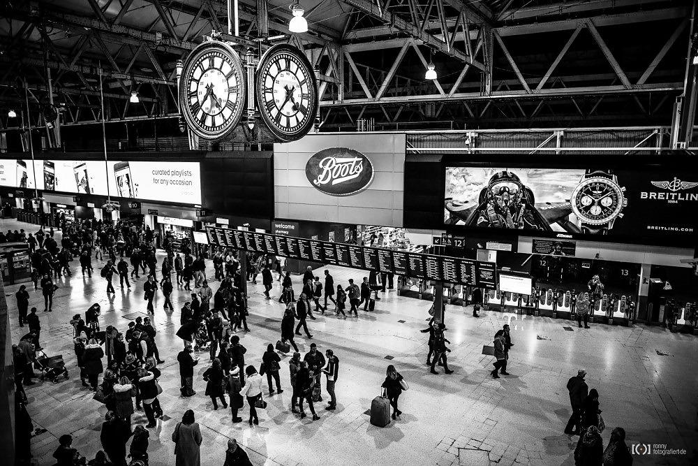Foto Waterloo Station von Ronny Walter