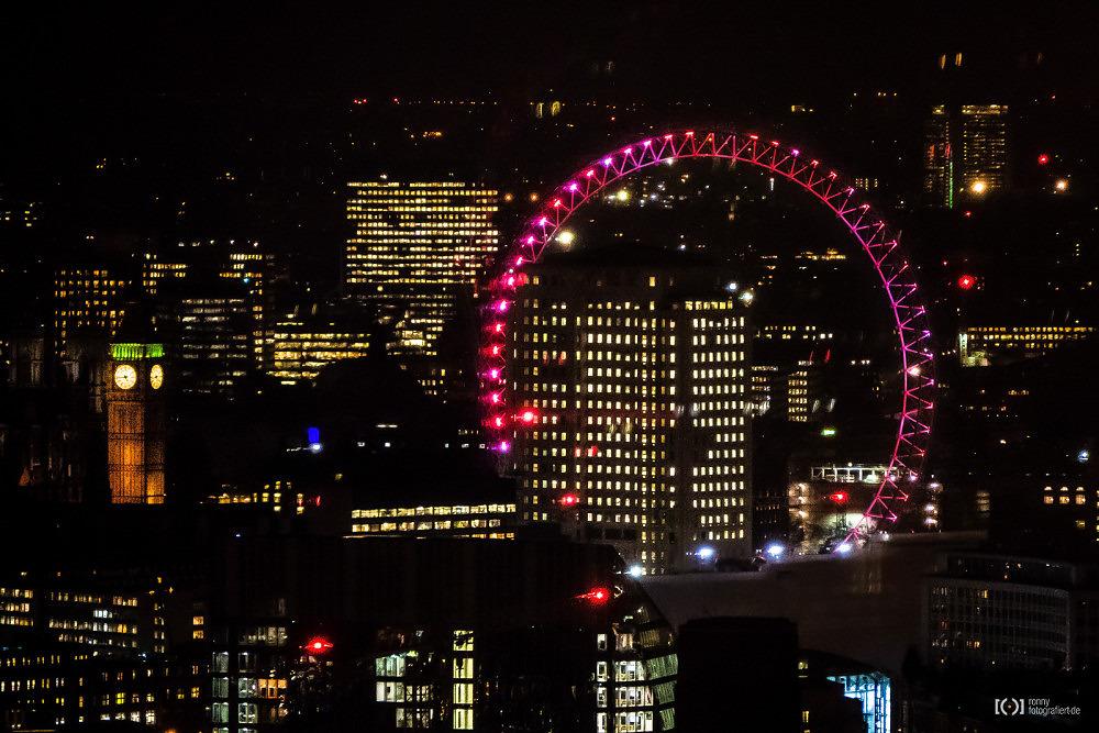 Foto Big Ben und London Eye von Ronny Walter