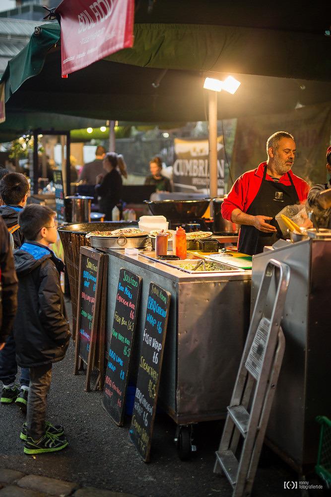 Foto Streetfood auf dem Borough Market von Ronny Walter