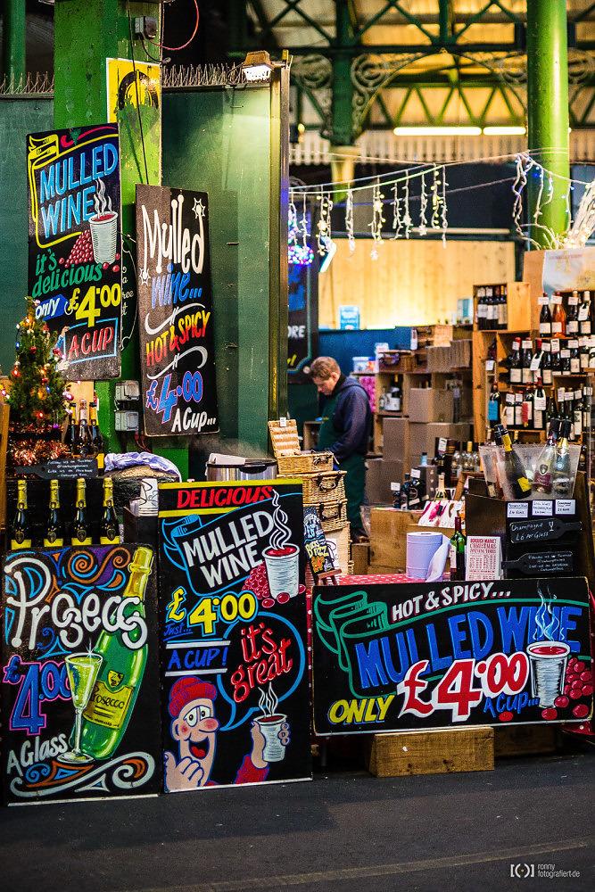 Foto Auf dem Borough Market gibt's auch Glühwein von Ronny Walter
