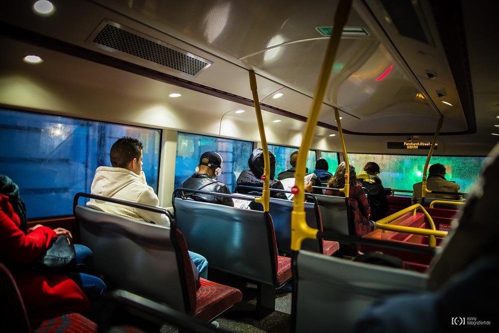 Foto Busfahren im New Routemaster von Ronny Walter