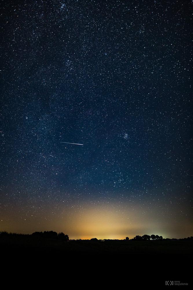 Foto Perseiden Sternschnuppe von Ronny Walter
