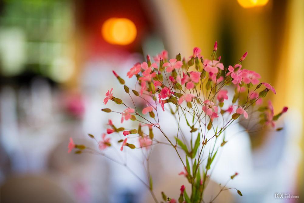 Foto Rote Hochzeitstischdeko von Ronny Walter