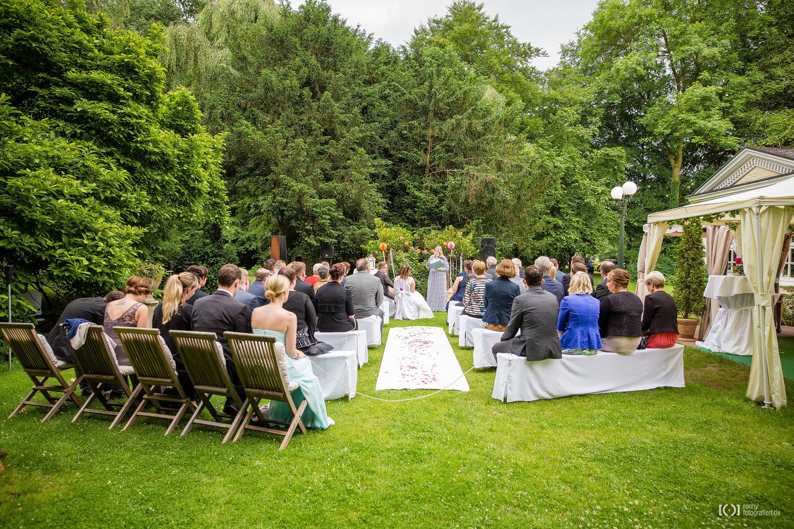 Freie Trauung und Hochzeitsfeier im Landhaus Etzhorn