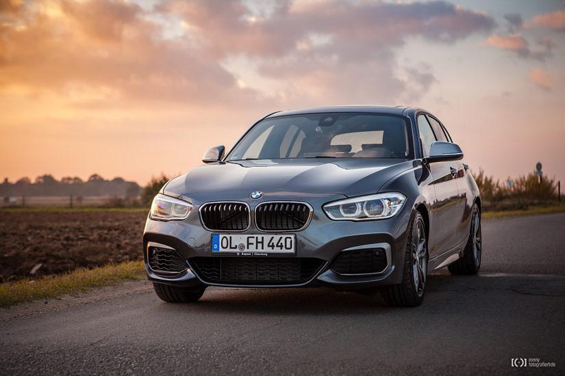 Foto BMW M140i Mineralgrau metallic von Ayke Achgelis