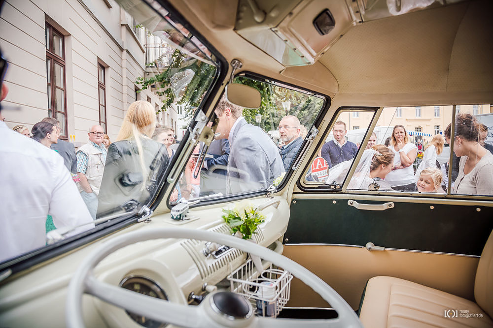 Foto VW T1 Bulli als Hochzeitsauto von Ronny Walter
