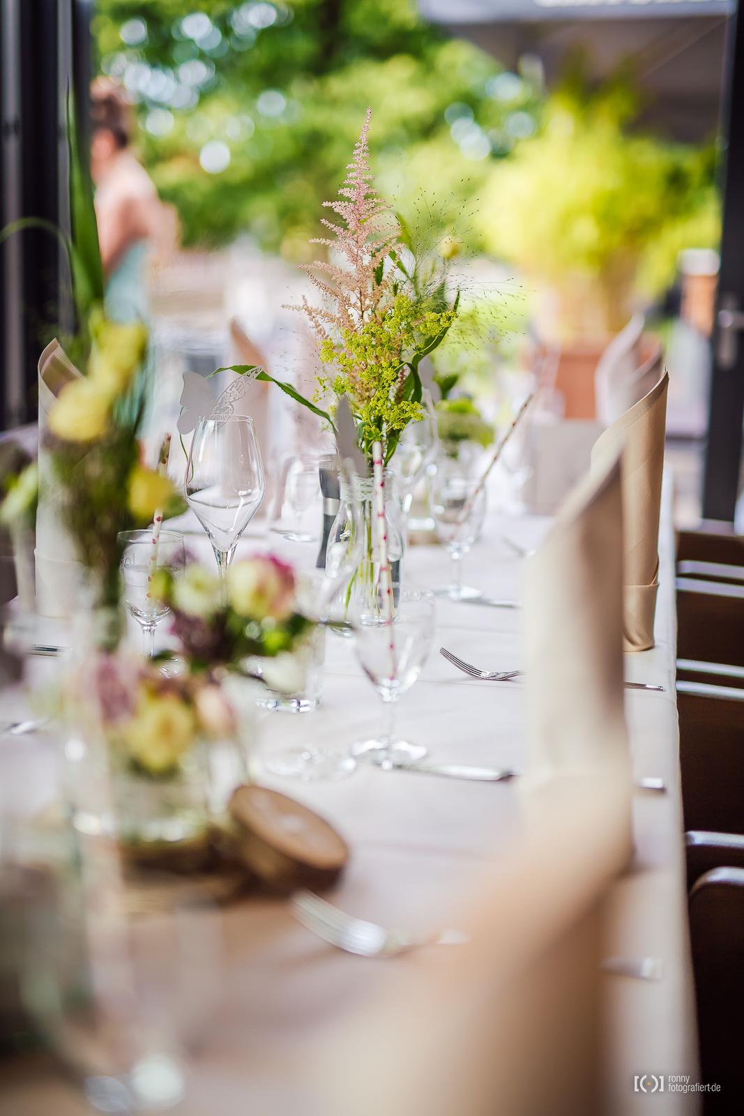 Deko Bei Der Hochzeitsfeier Im Hafenhaus Ronnyfotografiert De