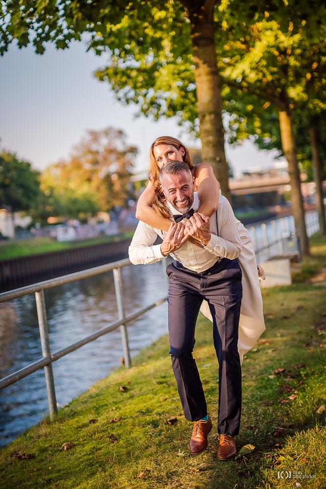 Foto After Wedding Shooting in der Abendsonne von Ronny Walter