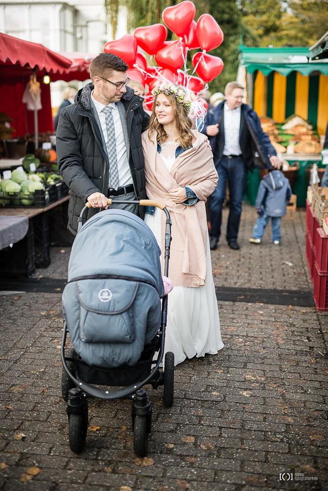 Foto Trauung im Standesamt Oldenburg am Pferdemarkt von Ronny Walter